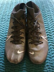 NIKE Mercurial 8 US Football Soccer Boots Black B44