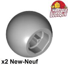 4x boule balle rond Ball Joint vert citron//lime 32474 NEUF Lego technic