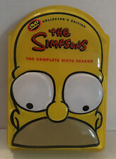 THE SIMPSONS THE COMPLETE SIXTH SEASON 6 Six (DVD, 2005) Collector's Edition