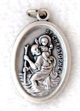 ST CHRISTOPHER Catholic Saint Medal Patron pilots travelers motorists Air Force