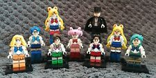 Lot de 9 figurines SAILOR MOON au format lego, neuves !!!