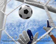 Soccer Motivational Poster Art Print 11x14 Shoes Balls Clothing Equipment MVP512