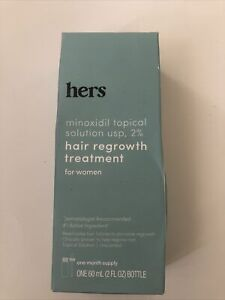Hers Hair Regrowth Treatment For Women - 2 oz - Exp 10/2021