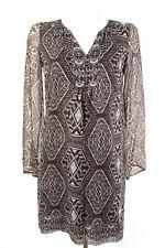Esprit Ethno Kleid Gr. 34 NEU 100% Seide Seidenkleid Sommerkleid