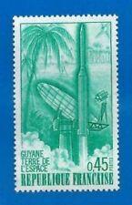 TIMBRE FRANCE 1970 - N° 1635 - GUYANE TERRE DE L ESPACE MNH