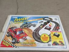 """Tyco """"Bandit Off-Road Rally With Electric Sounds"""" Slot Car Set In Box"""