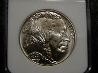 2001-D $1 AMERICAN BUFFALO UNCIRCULATED SILVER DOLLAR ~ NGC MS70