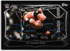 JBL Big Show 2015 Topps WWE Undisputed Cage Evolution Moments Black #CEM7 46/99