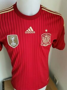 superbe maillot  de football espagne  adidas  taille S spain