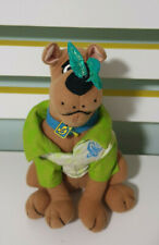 SCOOBY DOO BUTTERFLY ON NOSE AND JACKET PLUSH TOY SOFT TOY HANNA BARBERA! 22CM