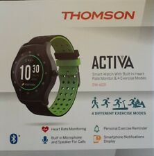 THOMSON ACTIVA SMART WATCH,BUILT IN HEART RATE MONITOR & FOUR EXERCISE MODES.FUN
