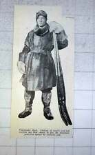 1928 Commander Byrd Clothed In Amels Wool And Sealskin