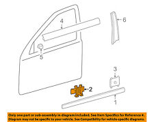 MERCEDES OEM 96-09 E320 REAR DOOR-Body Side Molding Clip 0079887178