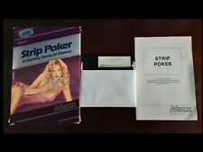 STRIP POKER in ORIGINAL BOX  COMPLETE for the ATARI 400/800/XL   ARTWORX    NTSC