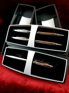 Classic Century Chrome Pen and Pencil Set with Lifetime Warranty