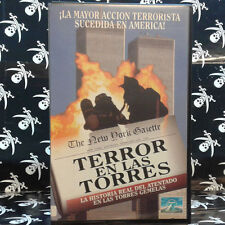 TERROR EN LAS TORRES (Alan J. Levi) VHS . James Avery, George Clooney, Andre Bra