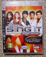 Disney Sing It Pop Hits New Sealed - PS3 Game
