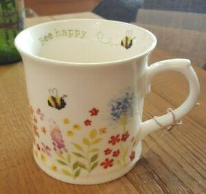 Cooskmart Bee Happy Tankard Mug
