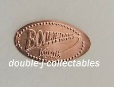 Knott's Berry Farm Pressed Penny Boomerang Attraction Logo