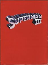 SUPERMAN III - 1983 - original PRESS KIT w/ 6 glossy photos - CHRISTOPHER REEVE