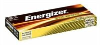 NEW Energizer AAA Industrial LR03 Batteries for Camera's / Toys & more - 10 Pack