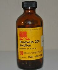 Vintage AMBER EASTMAN KODAK Photo Flo Bottle 1980's