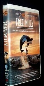 Free Willy VHS Tape Movie VG Free Postage Australia 🇦🇺