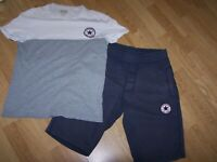 """Boys T shirt and Shorts set by Converse Fit 28"""" Waist"""