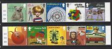 GREAT BRITAIN 2017 CLASSIC TOYS  SET OF 10 IN 2 STRIPS WITH MARGIN