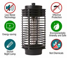 Mosquito Zapper Electronic Lamp Insect Killer Bug Fly Trap UV light Flying Pests