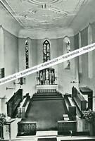 Neuburg bei  Heidelberg - Benediktinerabtei - Abteikirche -  um 1950     S 26-13