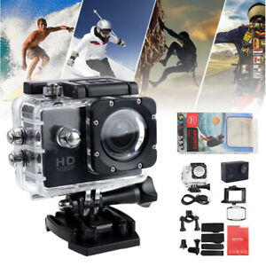 140° With Go Pro Camera Hero Full 4K HD 1080P DV Waterproof Sports Action Video