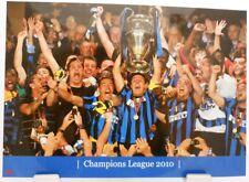 INTER MILANO + CALCIO CHAMPIONS LEAGUE 2010 Winner + Fan Big CARD EDITION a143
