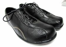 Clarks women's size 11 M Black leather oxford walking comfort shoes