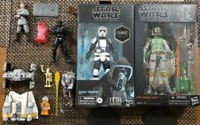 """Star Wars Black Series 6"""" Figures++++++ Collection!!! Lego,pin,boba fett,scout++"""