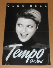 Olga Bell Tempo Out now! Poster Original 2016 Promo 11x17