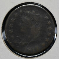 1812 1c Classic Head Large Cent - Better Date Coin - SKU-Y1250