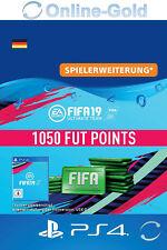 FIFA 19 PlayStation 4 - 1050 FUT Points Key FIFA Ultimate Team PS4 - DE Account
