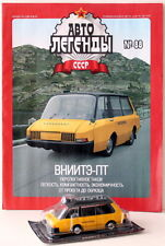 AL 088 1/43 die cast soviet Russian experimental taxi VNIITE-PT USSR CCCP