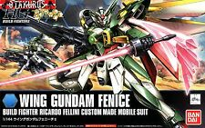 Wing Gundam Fenice HGBF Build Fighters Scale 1/144 Model Figure Bandai Japan