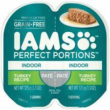 Iams Perfect Portions Indoor Formula 2.6 Oz. Turkey Flavor Adult Wet Cat Food
