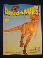 DINOSAURS MAGAZINE - ORBIS  - Play and Learn - Issue 87 - Dsungaripterus