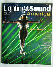 LIGHTING & SOUND AMERICA March 2020 Shakira Jennifer Lopez Super Bowl Lumineers