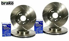 Ford Focus ST170 Front Rear Brake Discs EBC Yellowstuff Pad Performance