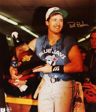 Pat Borders Autographed 8x10 - Toronto Blue Jays - World Series MVP