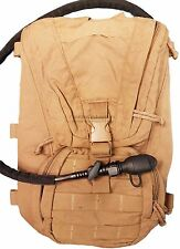 US HYDRATION CARRIER BACKPACK, EAGLE INDUSTRIES COYOTE MOLLE, FILBE, rucksack