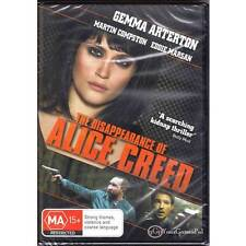 DVD DISAPPEARANCE OF ALICE CREED, THE Gemma Arterton KIDNAP THRILLER R4 PAL [BNS