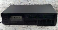 Vintage Onkyo Stereo Cassette Tape Deck Recorder Player Black TA-2028 (WORKS)