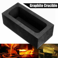 5OZ Graphite Casting Refining Scrap Melting Gold Silver Ingot Mold Crucible