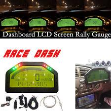 DO904 Dash Race Display - FULL SENSOR KIT, Dashboard LCD Screen; Rally Gauge